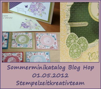 Blog Hop des Stempelzeitkreativteams am 1. Mai 2012