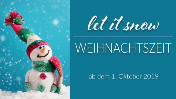 Let is snow - Weihnachtszeit